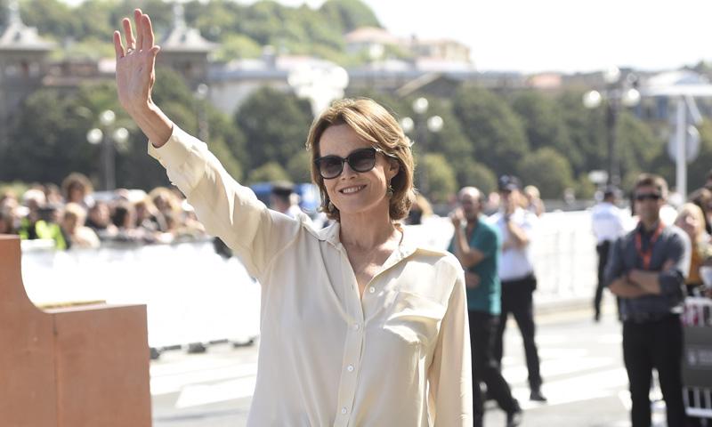 Sigourney Weaver revoluciona San Sebastián