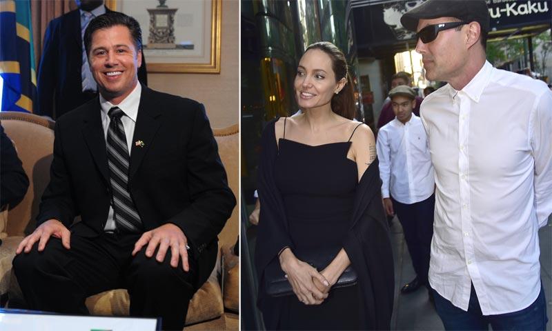 ¿En quién se apoyan Angelina Jolie y Brad Pitt en estos complicados momentos?