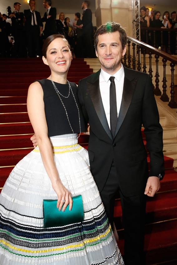 Guillaume Canet defiende a su pareja Marion Cotillard frente a las especulaciones que la relacionan con Brad Pitt