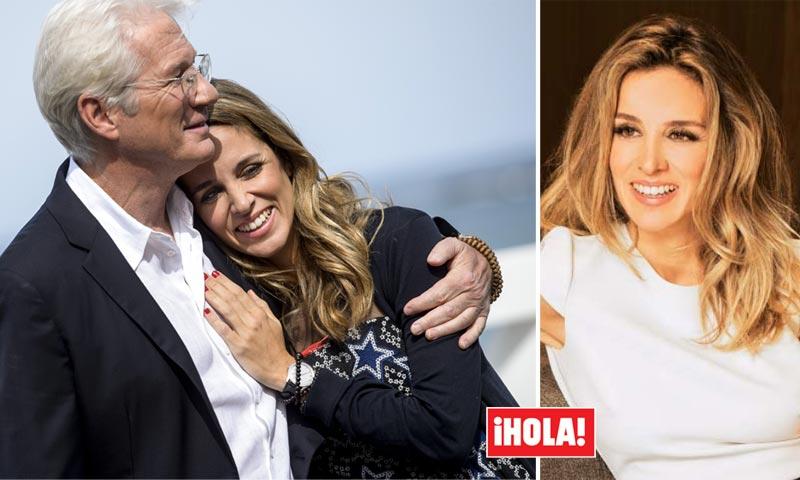 Exclusiva en ¡HOLA!, Richard Gere y Alejandra Silva, su declaración de amor: 'Nuestro Karma se atrajo cuando nos vimos'