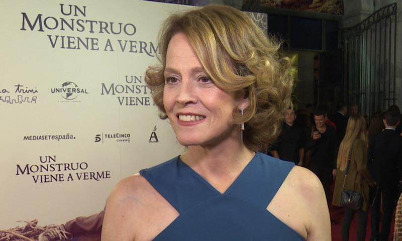 Sigourney Weaver manda un mensaje a Pedro Almodóvar