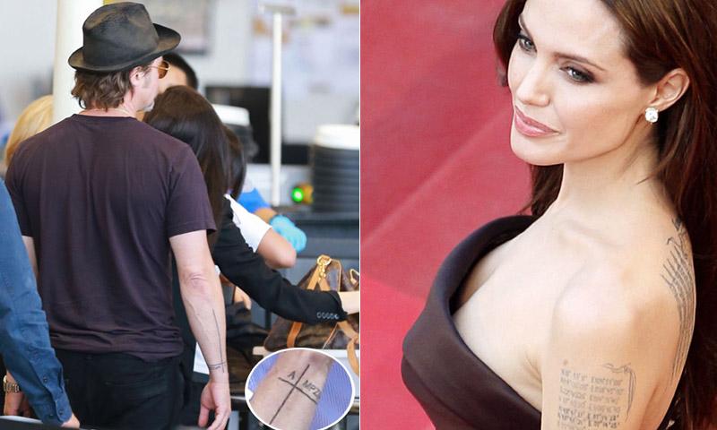 ¿Qué sucederá con los tatuajes de Angelina Jolie y Brad Pitt?