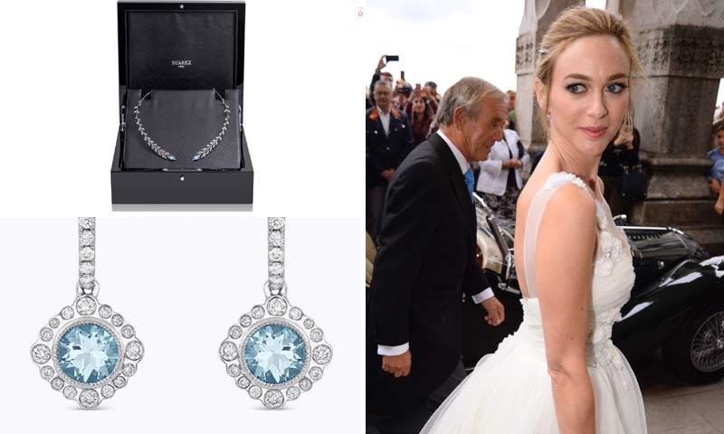 Te descubrimos las joyas que eligió Marta Hazas en el día de su boda