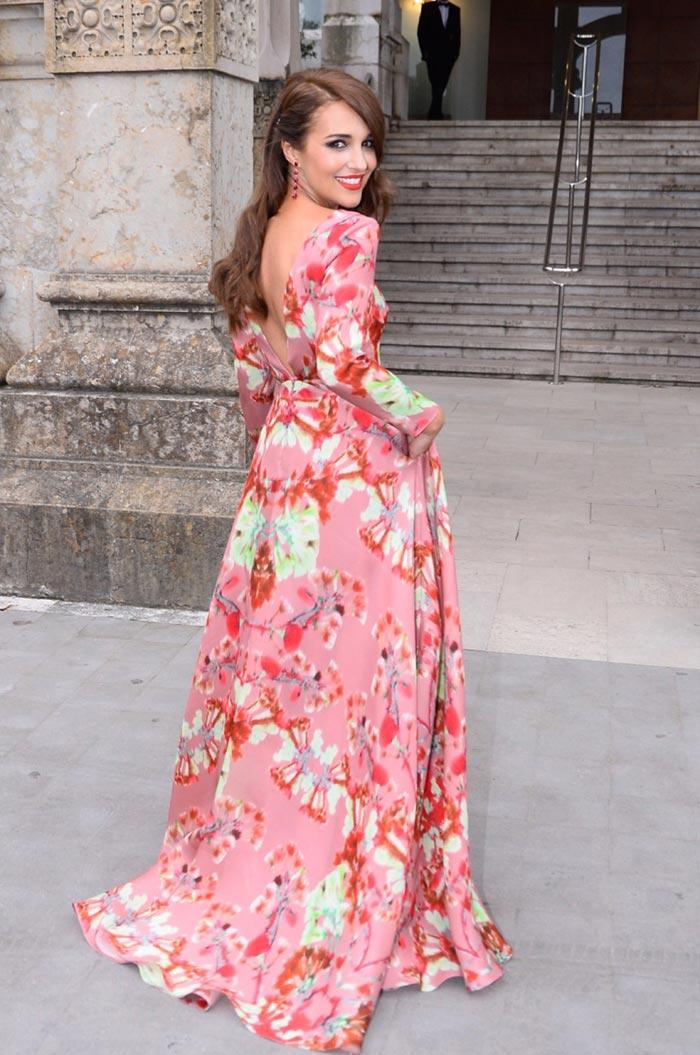Un \'sí, quiero\' de película para Marta Hazas en Santander
