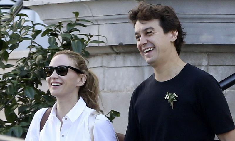 Marta Hazas y Javier Veiga, la felicidad de dos recién casados