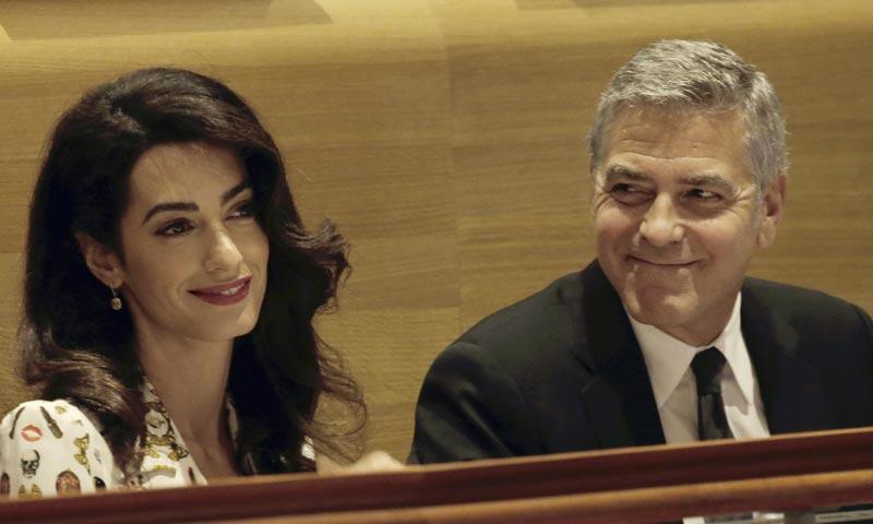 George Clooney celebra su segundo aniversario de boda con Amal: 'Y decían que no duraría...'
