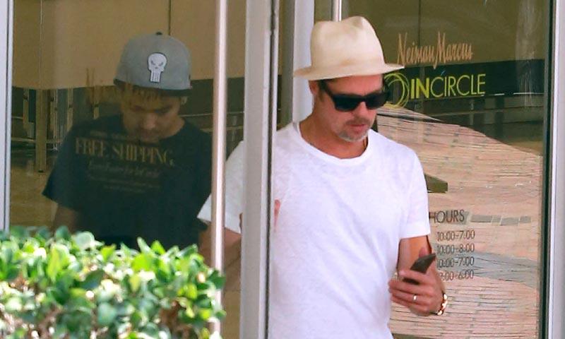 Brad Pitt no será procesado por el incidente ocurrido con su hijo Maddox