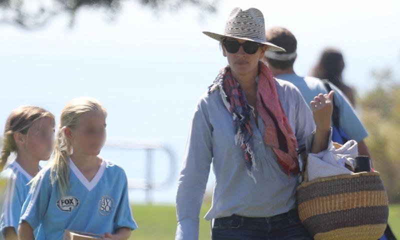Entusiasta del fútbol y con las ideas muy claras, así es la hija de Julia Roberts