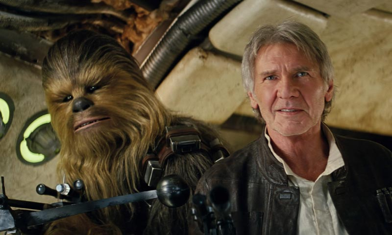 Multa millonaria por el accidente sufrido por Harrison Ford en 'Star Wars'
