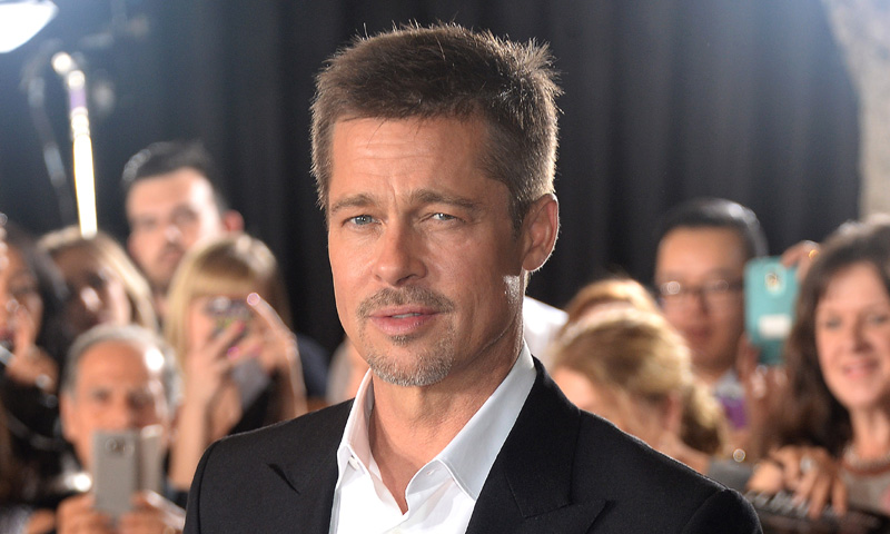 Brad Pitt llega a Madrid tras su divorcio de Angelina Jolie