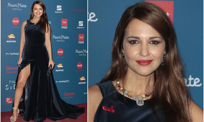 Paula Echevarría al más puro estilo Angelina Jolie