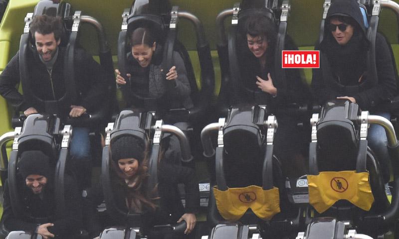 Así es la pandilla con la que Cristiano Ronaldo y su nueva novia viajaron a París
