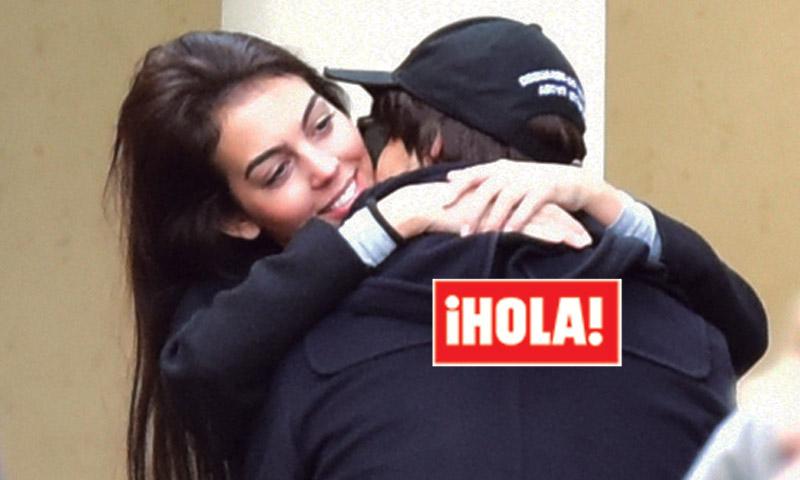 Exclusiva: 'Hat-trick' de besos entre Cristiano Ronaldo y Georgina Rodríguez