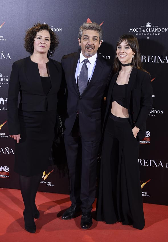 Penélope Cruz y Chino Darín, al estreno de 'La reina de ...