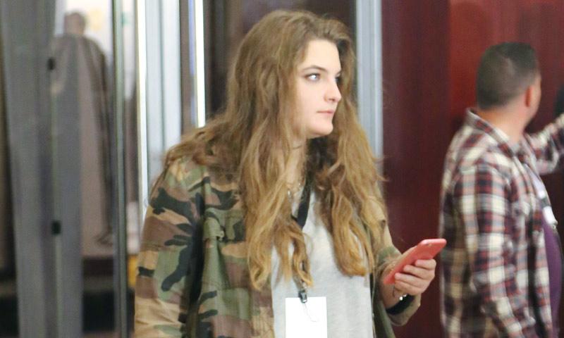 Alba, la hija de José Luis Rodríguez Zapatero, a pie de alfombra roja