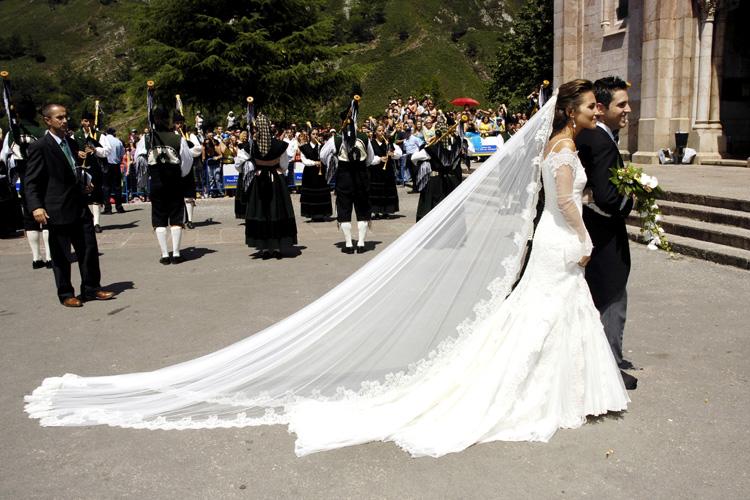 paula echevarría vuelve a vestirse de novia en el esperado final de
