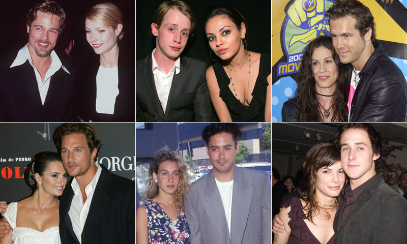 EN VÍDEO: Estos actores y actrices de Hollywood que fueron pareja... ¡y ya nadie se acuerda!