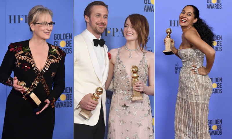 Globo de Oro 2017: La lista completa de los ganadores