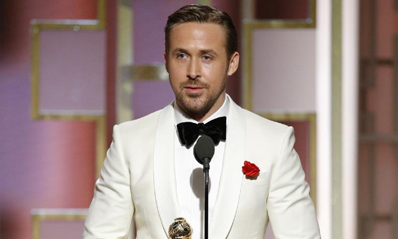 La declaración de amor de Ryan Gosling a Eva Mendes y sus hijas al recibir su Globo de Oro