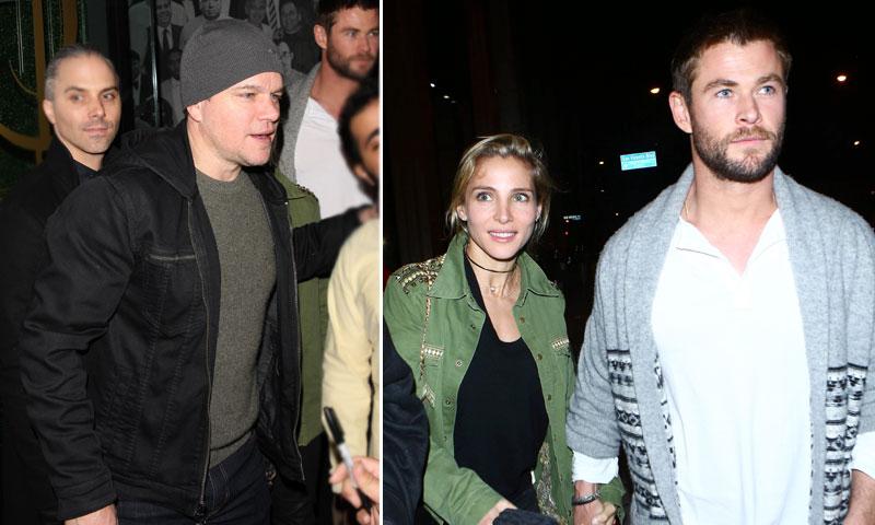 Elsa Pataky y Chris Hemsworth aprovechan al máximo su tiempo en Los Ángeles