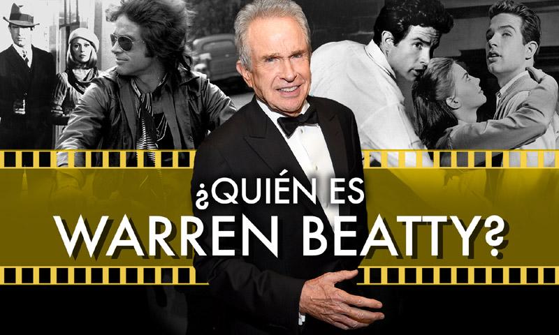 Tras el lío final de los Oscar… ¡Warren Beatty es el hombre del momento!