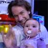 La hija de Carolina Cerezuela y Carlos Moyá hace su primera aparición televisiva