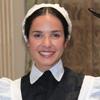 Paula Prendes se convierte en una misteriosa doncella en 'Gran Hotel': 'Desde las 8 de la mañana a las 6 de la tarde, llevo puesto un corsé que aprieta un montón'