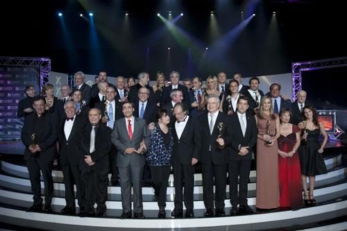 Antenas de Oro 2011: ¿Quieres conocer quienes fueron los premiados de la noche más 'comunicativa' del año?