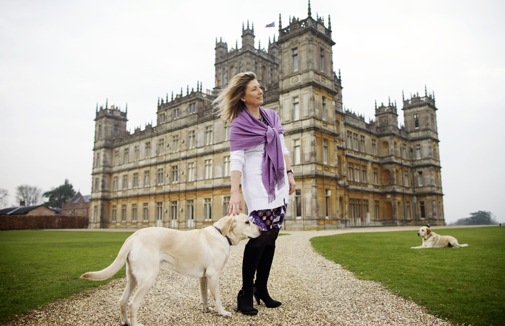 Entramos en Highclere Castle, el castillo de 'Downton Abbey'