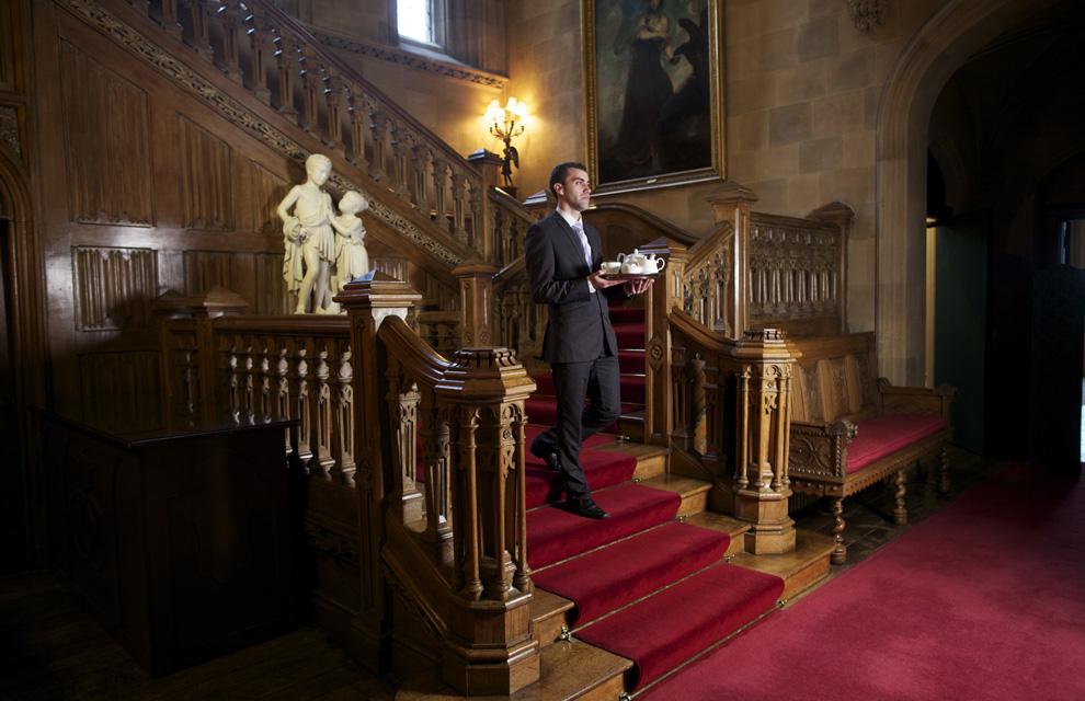entramos en highclere castle el castillo de 39 downton abbey 39. Black Bedroom Furniture Sets. Home Design Ideas