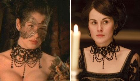 En busca de las siete diferencias: la serie Downton Abbey recicla sus trajes de antiguas películas de época