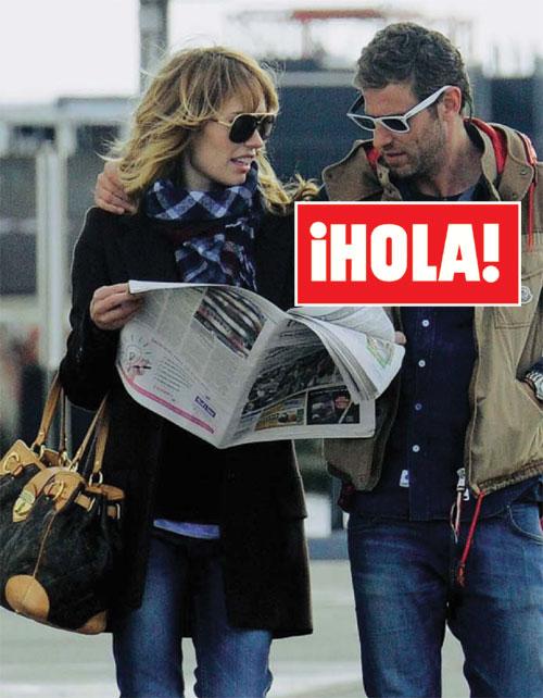 En ¡HOLA!: Patricia Conde y Carlos Seguí, primeras imágenes tras confirmar su próxima boda