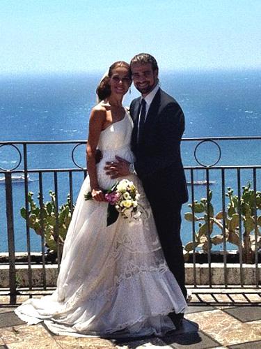Raquel Sánchez Silva se casa con Mario Biondo en Sicilia
