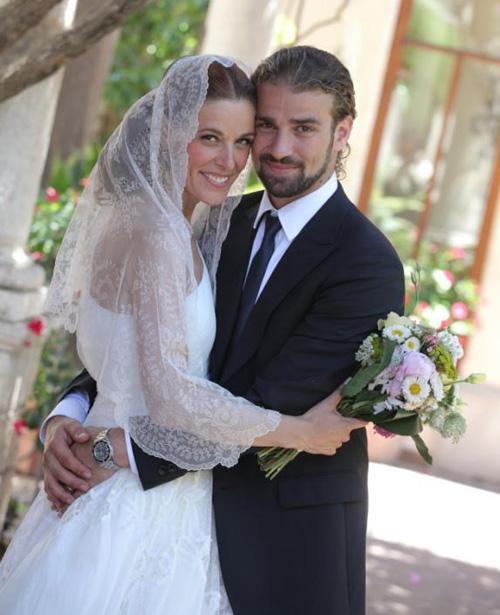 Raquel Sánchez Silva y Mario Biondo
