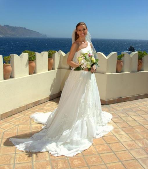 La radiante novia