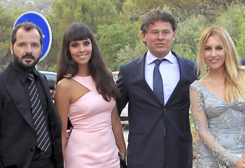 Patricia Conde se casa con Carlos Seguí en Mallorca