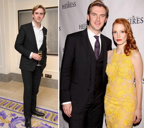 Dan Stevens, de 'Downton Abbey', el hombre más elegante de Gran Bretaña
