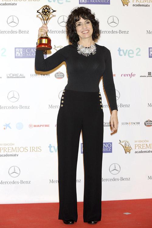 Las parejas televisivas más queridas, un embarazo sorpresa y un galardón muy especial en los Premios Iris