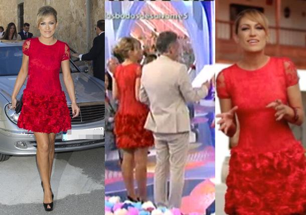 El vestido preferido de Luján Argüelles