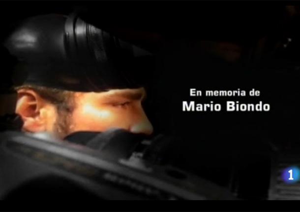 'MasterChef' recuerda a su compañero fallecido, el cámara Mario Biondo y Raquel Sánchez Silva agradece esta muestra de cariño en Twitter