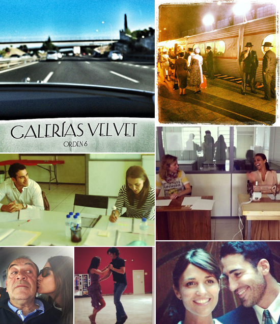 Paula Echevarría y Miguel Ángel Silvestre nos enseñan los secretos de 'Galerías Velvet'