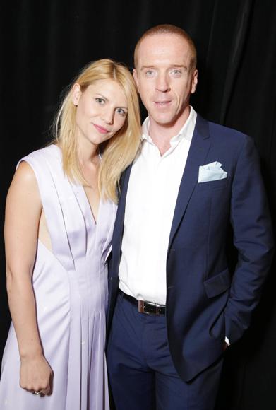 Claire Danes y Damian Lewis, 'de buen rollo' en la presentación de la 3ª temporada de 'Homeland'