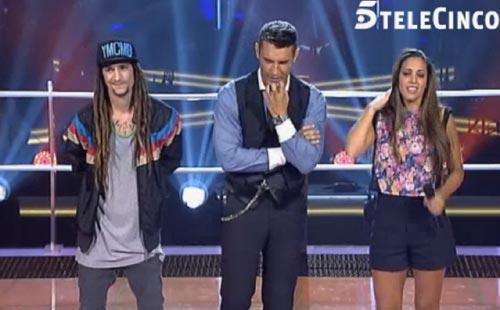 Rosario, Malú y Antonio Orozco se estrenan como 'ladrones' en 'La Voz'
