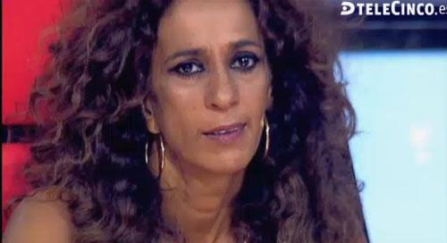 Rosario Flores, muy emocionada recordando a su hermano Antonio en 'La Voz'