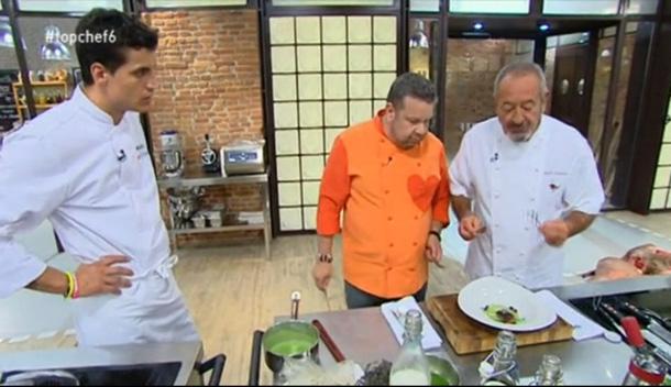 Karlos Arguiñano, el Marqués de Griñón y los paladares más exigentes se lo ponen difícil a los concursantes de 'Top Chef'