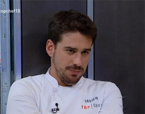 Javier, uno de los cuatro mosqueteros de 'Top Chef', se queda a las puertas de la final