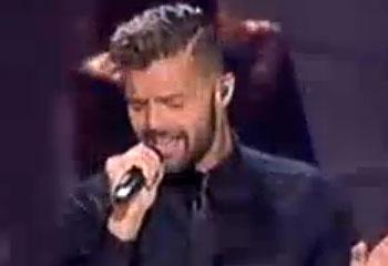 Ricky Martin y Alejandro Fernández, padrinos internacionales en el escenario de 'La Voz'