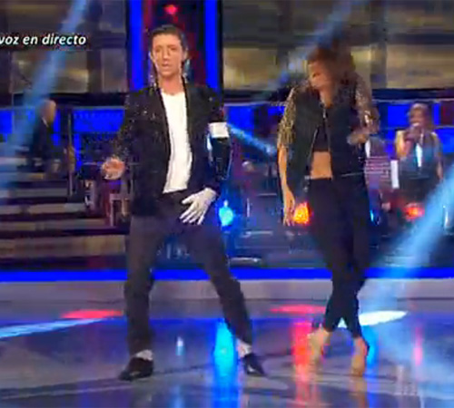 Nicolás Vallejo Nágera desafía al jurado de '¡Mira quién baila!' y gana la gala convertido en Michael Jackson