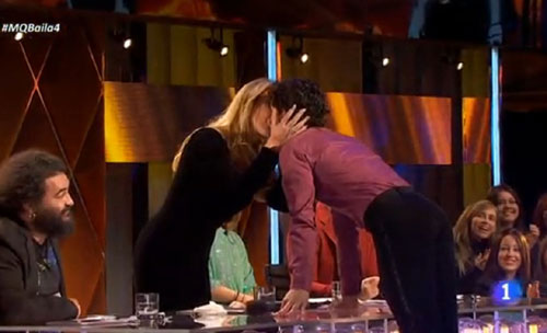 Muchos besos y un 'pato sin salsa', Miguel Abellán y Maribel ponen un toque de humor a '¡Mira quién baila!'