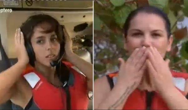 Supervivientes 2014: Anabel Pantoja se acuerda de sus sobrinos y Katia Aveiro manda besos a su hermano, Cristiano Ronaldo